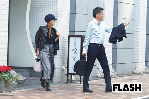 金カツラ「岩崎恭子」は会社役員とここでデート/東麻布・富麗華