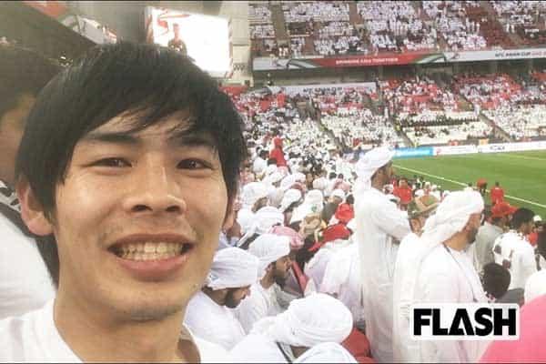 カカロニ菅谷直弘のアジアカップ観戦記/日本代表のホテルへ
