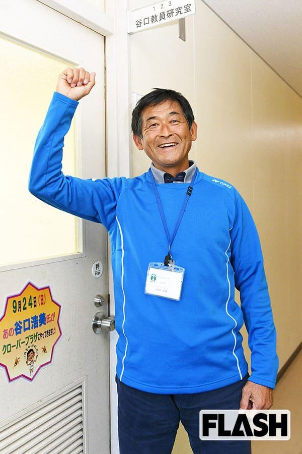 バルセロナ五輪で「こけちゃいました」谷口浩美は大学教授