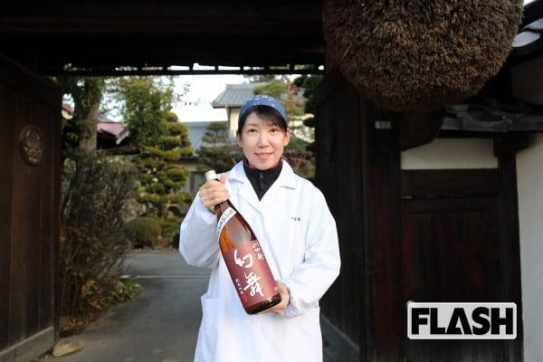 創業479年の酒蔵を支える女性杜氏、思いは「和醸良酒」