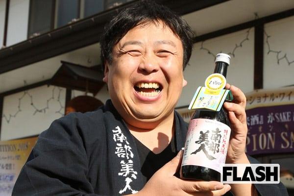 酒瓶を担いで飛行機に…世界38カ国に日本酒を売る蔵元の挑戦