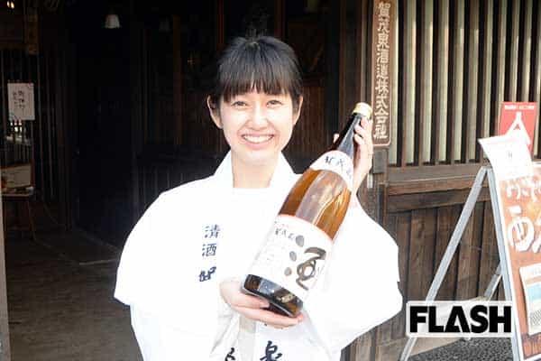 精米歩合60%「純米吟醸酒」を送り出した蔵元の先見の明