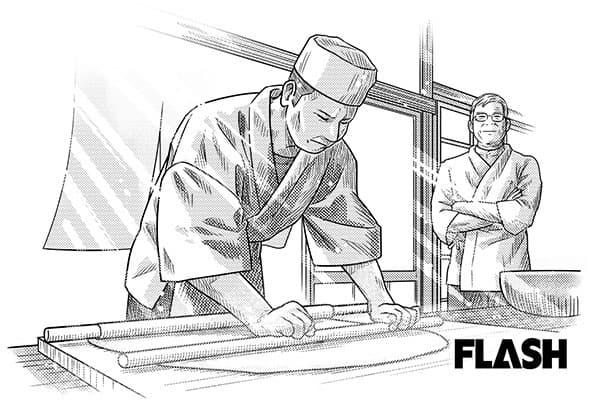 佐川急便で月収85万だった男、志を認められ蕎麦店を開く