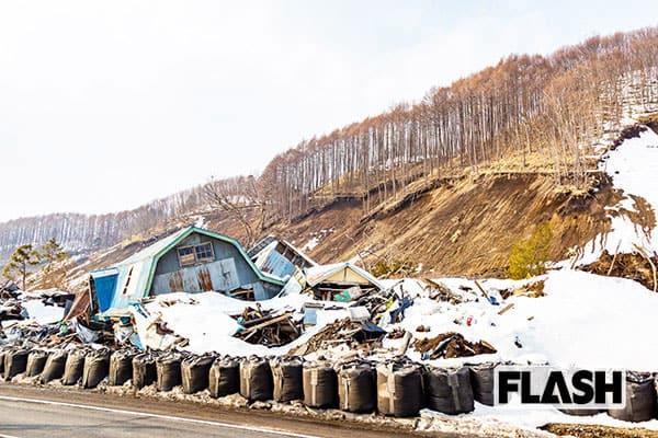 北海道「二度の大地震」で放置された爪痕