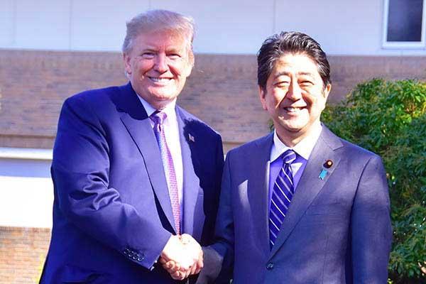 安倍首相とトランプ大統領の蜜月どう見てもフェイクニュース