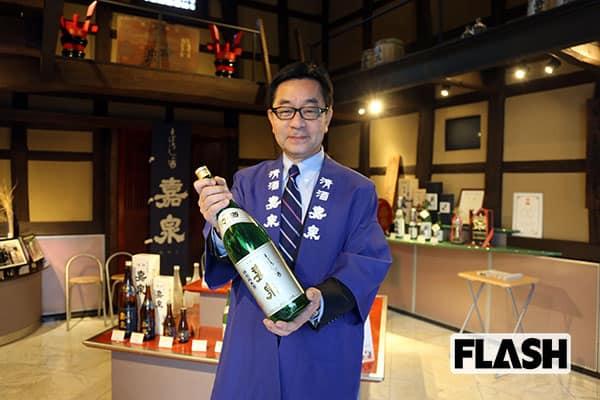 東京の名水で作った日本酒、五輪を前に世界アピールを狙う