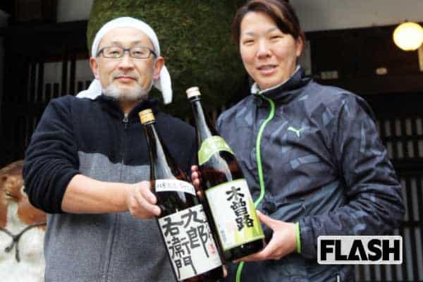 「婦唱夫随」で醸造されるまろやか日本酒、決めては木曽の水