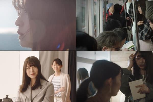卒業発表した「長濱ねる」CM連動ショートムービーが公開