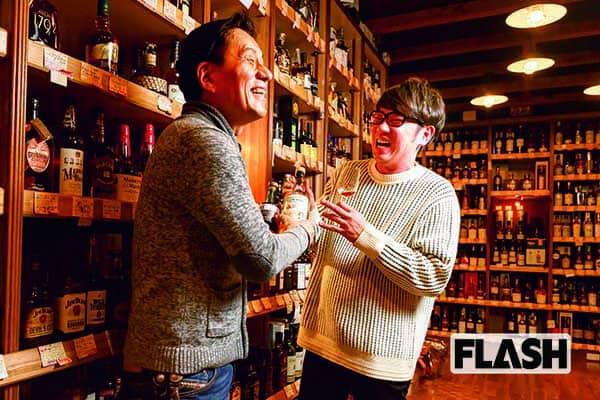TKO木本「芸能界ウイスキー部」御用達の名店で教えを請う