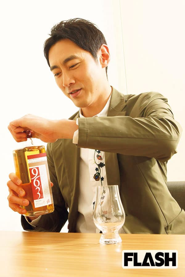 ウイスキーの師は武豊「小泉孝太郎」堪能したのは、この銘柄