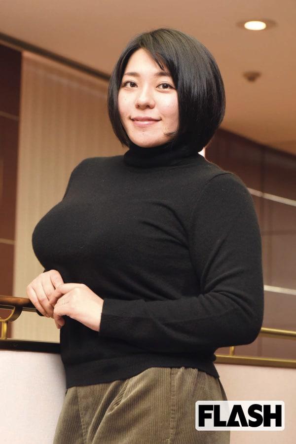 追跡!伝説のAV女優「杏美月」寿引退してバストが大きくなった