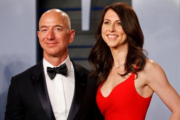 離婚で妻に4兆円払った「アマゾン創業者」1秒で28万円稼ぐ