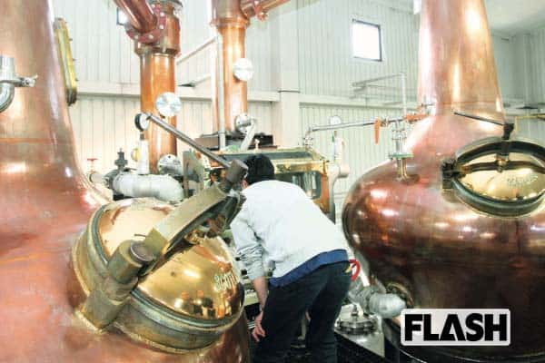 最強の国産ウイスキー「イチローズ・モルト」蒸留所に潜入撮!