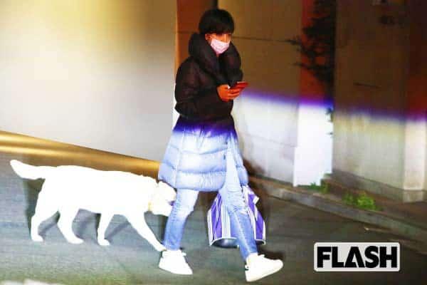滝川クリステル「休日の夜」一緒に過ごすのは犬のアリス