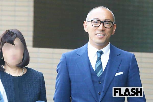 市川海老蔵、息子の入学式で見せた「パパの笑顔」