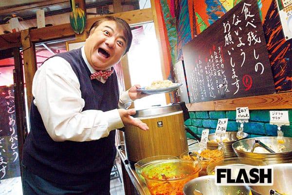 彦麻呂が通う「東京アンダー1000円飯」西新宿のカレー店