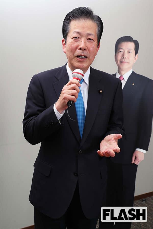 公明党・山口代表、安倍首相に物申す「人事は果断に決断を!」