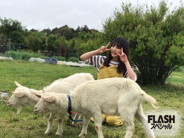 乃木坂46 与田祐希【オフショット】FLASHスペシャル2019初夏号