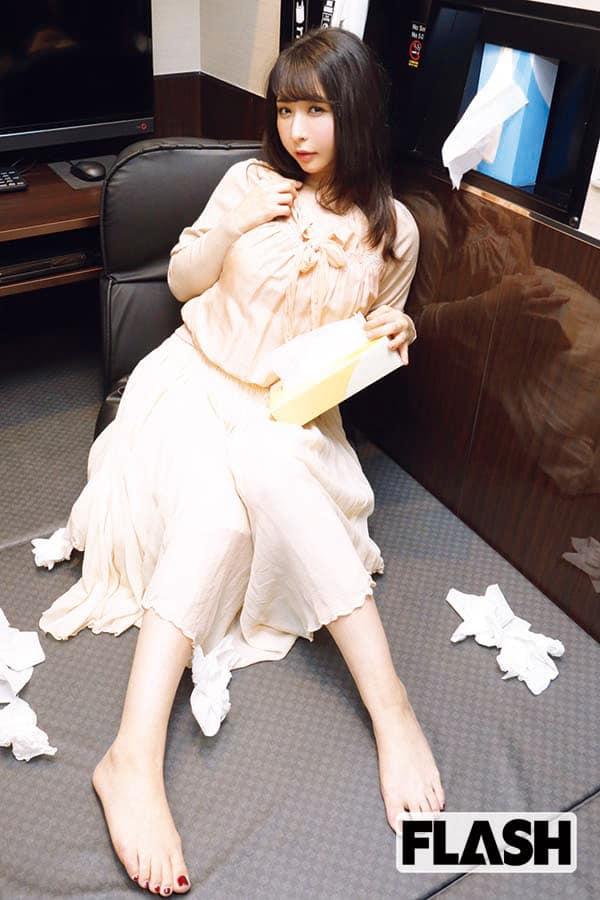 伝説のAV女優・大沢佑香「私、このシーンで本当にイキました」
