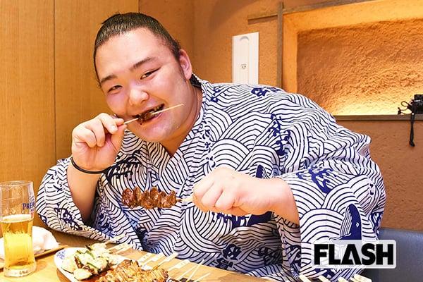 初優勝「朝乃山」パワーの源は焼き鳥と寿司だった