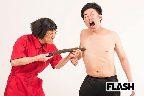 吉本新喜劇の名物ギャグ「乳首ドリル」はアドリブから始まった