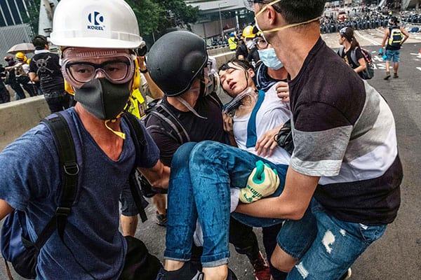 香港200万人デモを圧殺した中国本土「超AI監視技術」