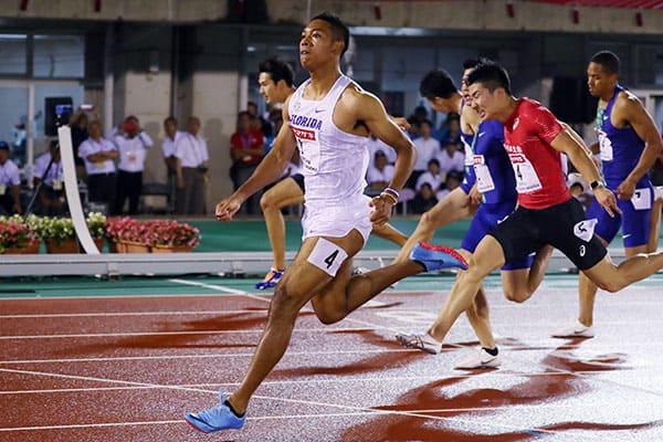 日本選手権優勝の「サニブラウン」最高時速は42.7キロ