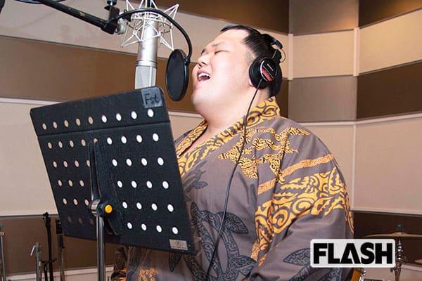 連敗をカラオケで気晴らし「阿武咲」初レコーディングに挑戦