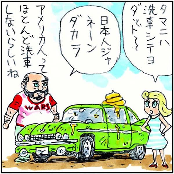 実家では洗車も「吉田戦車」おっさん狙いの掃除用品を買う