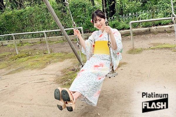 声優 石原夏織【オフショット】Platinum FLASH Vol.10