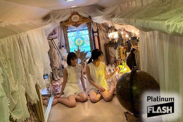 乃木坂46 4期生 早川聖来・清宮レイ【オフショット】Platinum …