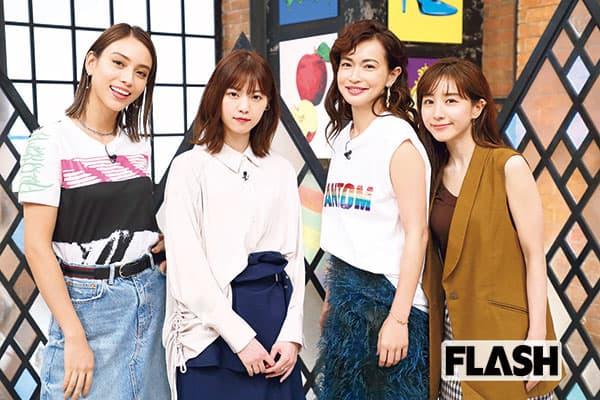 『グータンヌーボ2』MC美女4人と「恋バナしませんか?」