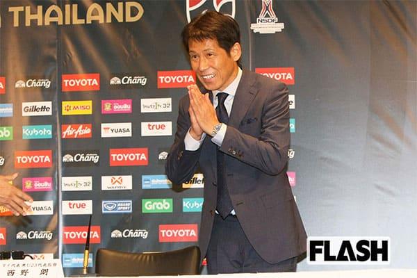 西野朗、タイ代表監督就任で「W杯」最強の敵になる