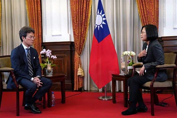NHKキャスター、台湾総統から出されたタピオカに「おもてなし感じた」