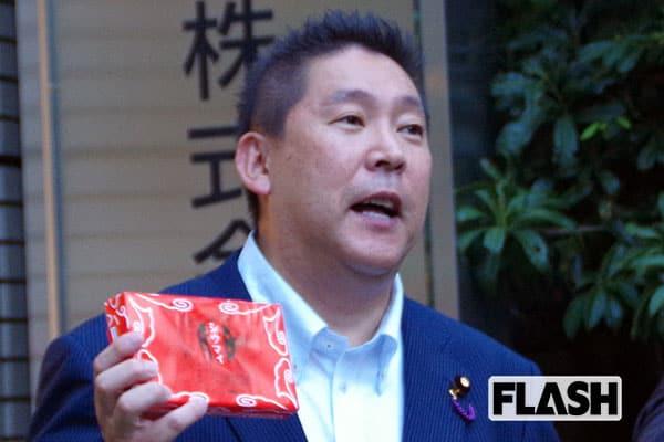 N国党の立花孝志党首、崎陽軒に謝罪「僕の勇み足だった」