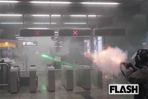 中国共産党の秘密分子が「香港で第2の天安門事件が!」