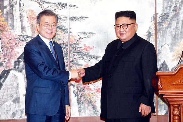 韓国大統領「2045年までに南北統一」GSOMIA破棄はその第一歩