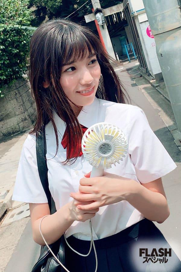 日向坂46河田陽菜【オフショット】FLASHスペシャル グラビアBEST2019盛夏号