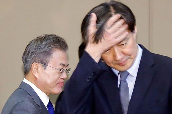 足元が揺らぐ韓国大統領、疑惑の側近が語った「4つのアリ地獄」