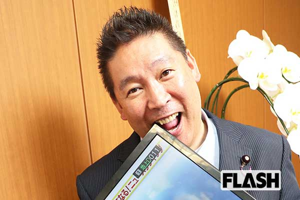 N国党首・立花孝志の独占告白90分「マツコ騒動で月収は1000万円に」