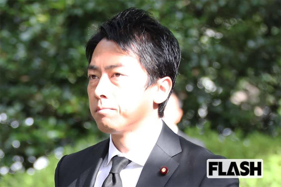小泉進次郎に「あれじゃ安倍首相以下」台風被災地で罵倒の声