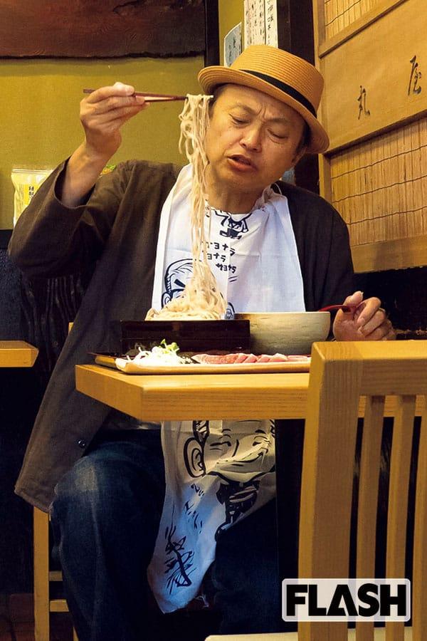 相島一之、20年通う蕎麦店で人生を語る「闘病と妊活と」