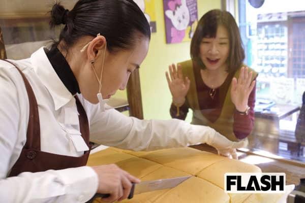 ふわふわした食感がたまらない「台湾風カステラ」に大行列!