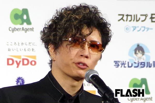 GACKT、『翔んで埼玉』の男子高校生役「最初は断った」