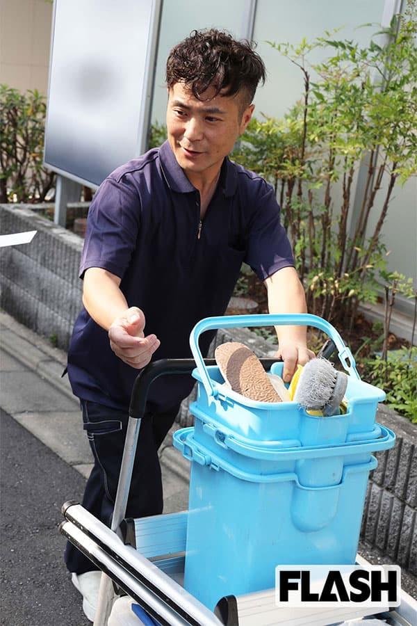 【本誌スクープで振り返る2019年9月】カラテカ入江慎也、清掃業に