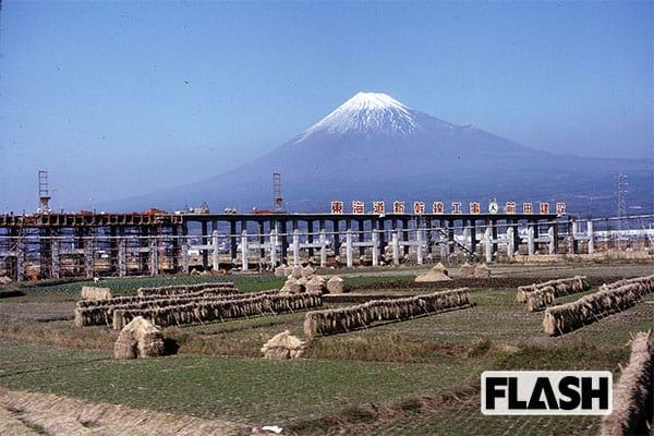 秘蔵カラー写真で見る「60年前の日本」新幹線が風景を変えた