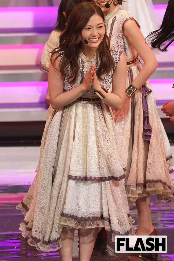 乃木坂46を卒業「白石麻衣」最後の『紅白』で見せた涙