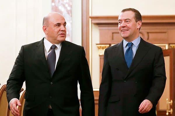 ロシア新首相にミシュスチン氏「つるふさの法則」を再確認!
