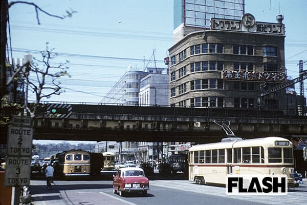 秘蔵カラー写真で見る「60年前の日本」銀座・有楽町