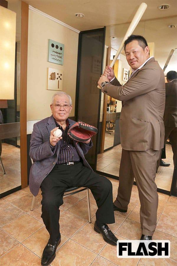 めったに褒めない野村氏が、「リーダーの資質あり」と語ったのが、楽天時代の山崎武司